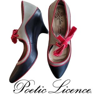 Poetic Licence London School's Out pumps